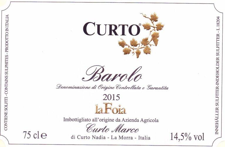 Barolo La Foia